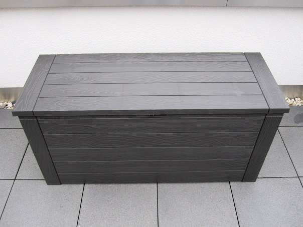 auflagenbox klein free auflagenbox truhe rollen gartenbox gartentruhe kissenbox l kunststoff. Black Bedroom Furniture Sets. Home Design Ideas