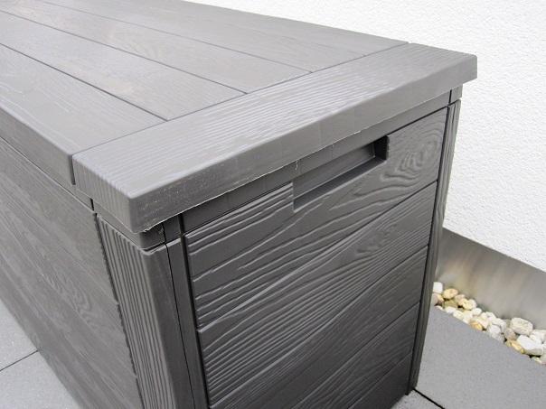 auflagenbox wetterfest great lifetime premium kissenbox gartenbox und auflagenbox l volumen. Black Bedroom Furniture Sets. Home Design Ideas