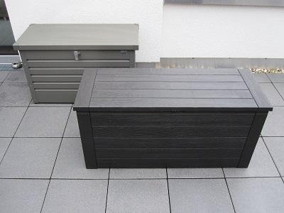 Auflagenboxen Kissenboxen Und Gartenboxen Nützliche
